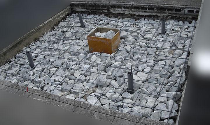 墓地 地盤 鉄筋強化