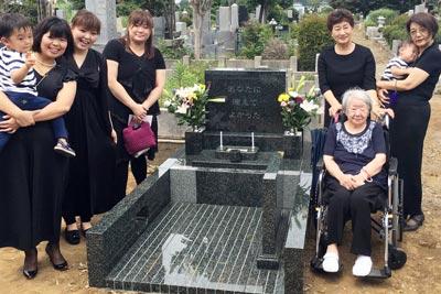 千葉県松戸市 墓石建立事例