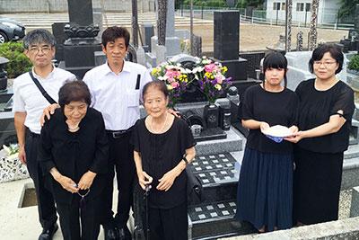 栃木県佐野市 墓石建立実績