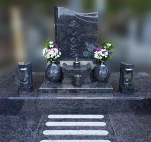 岐阜県可児市の墓石施工例