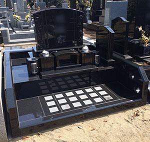 東京都青山霊園の墓石施工例