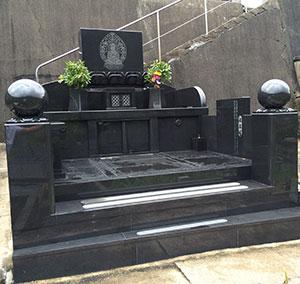 長崎県上五島市の墓石施工例