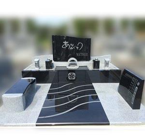 島根県の墓石施工例