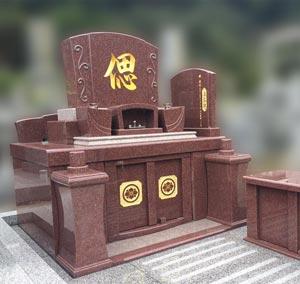 熊本県天草市の墓石施工例
