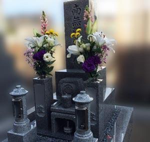 京都市下京区の墓石施工例