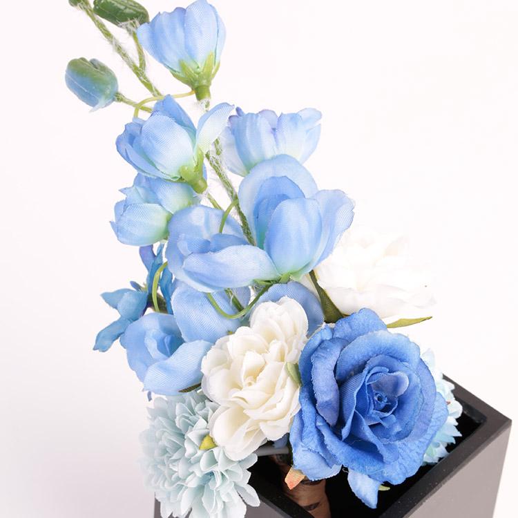 仏花 ブルー