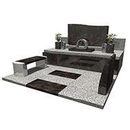 デザイン墓石 オーロラ