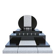 デザイン墓石 玉雪