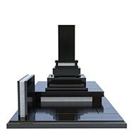 デザイン墓石 月華2