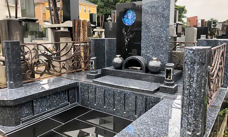 デザイン墓hanaベースのオーダーメイド制作例