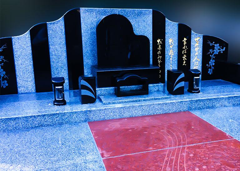 ピアノの墓石
