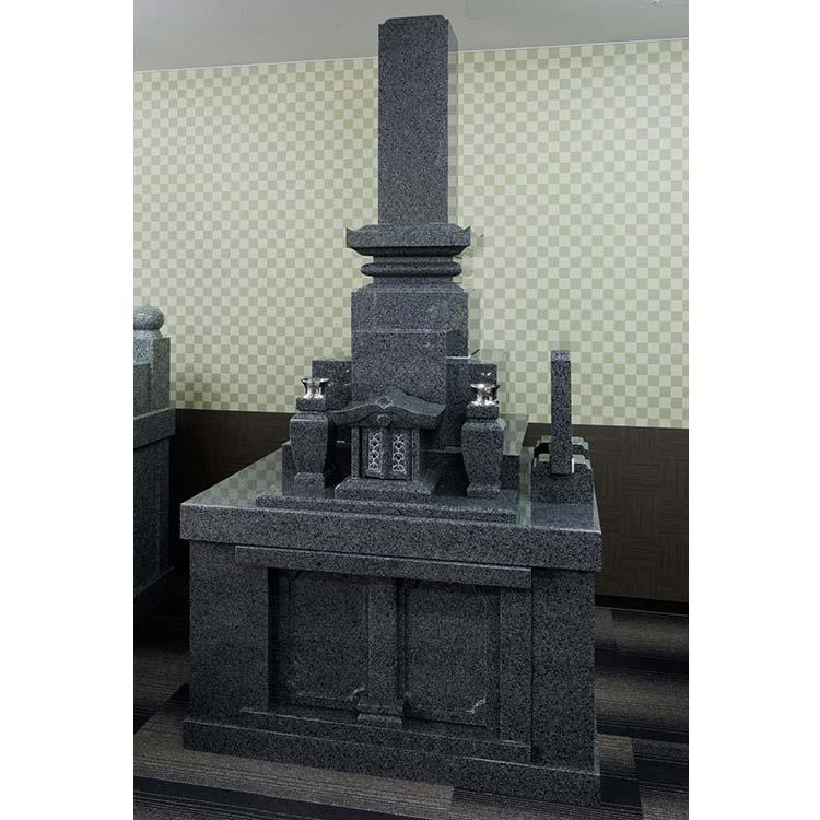 墓石 九州型8寸地上納骨型 中国産 G654