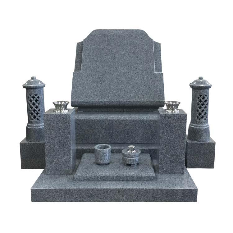 洋風墓石 フィンランド産 ロイヤルグレー