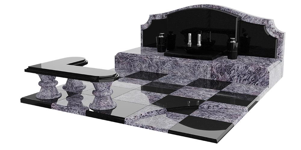 デザイン墓石 地上納骨型