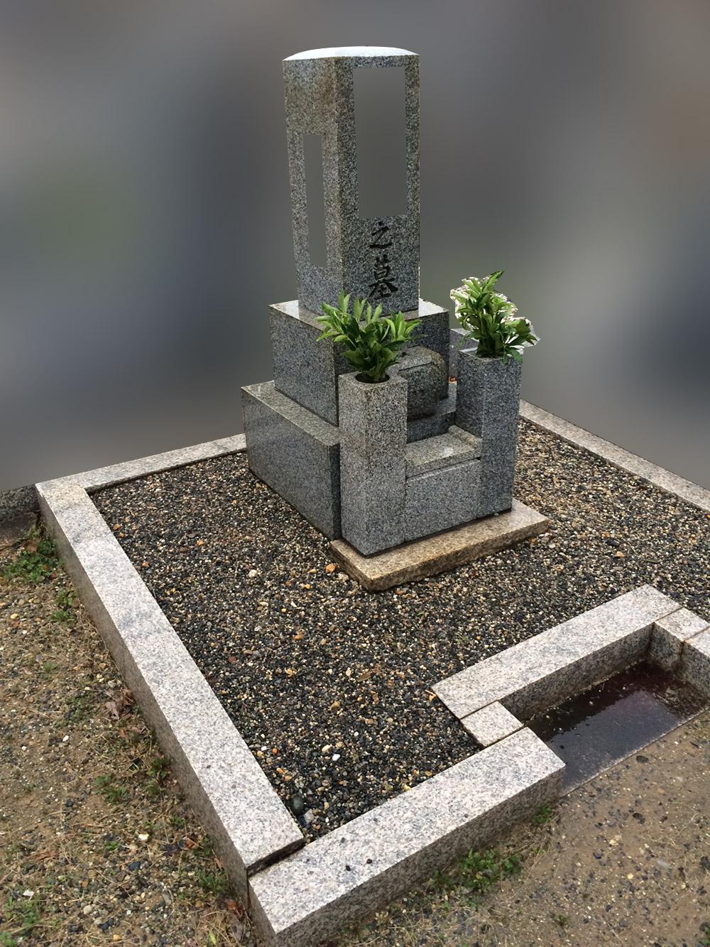 京都府向日市のお墓リフォーム前