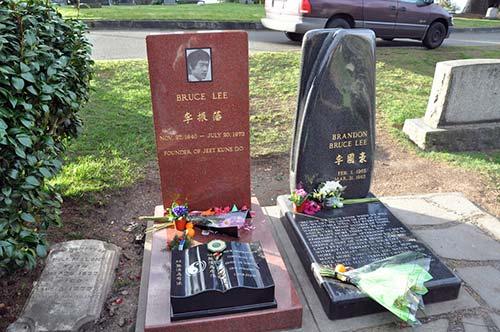 ブルース・リーの墓石