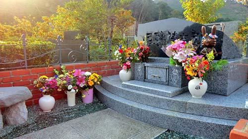 忌野清志郎の墓石