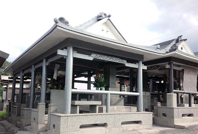 桜島 お墓