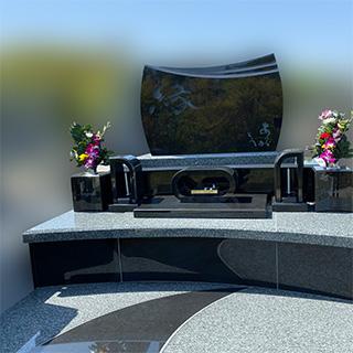 大阪堺市のデザイン墓石